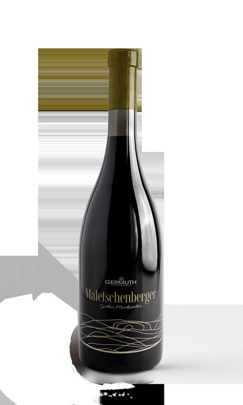 Südsteirischer Wein Schaumwein Gelber Muskateller Maletschenberg Weingut Germuth